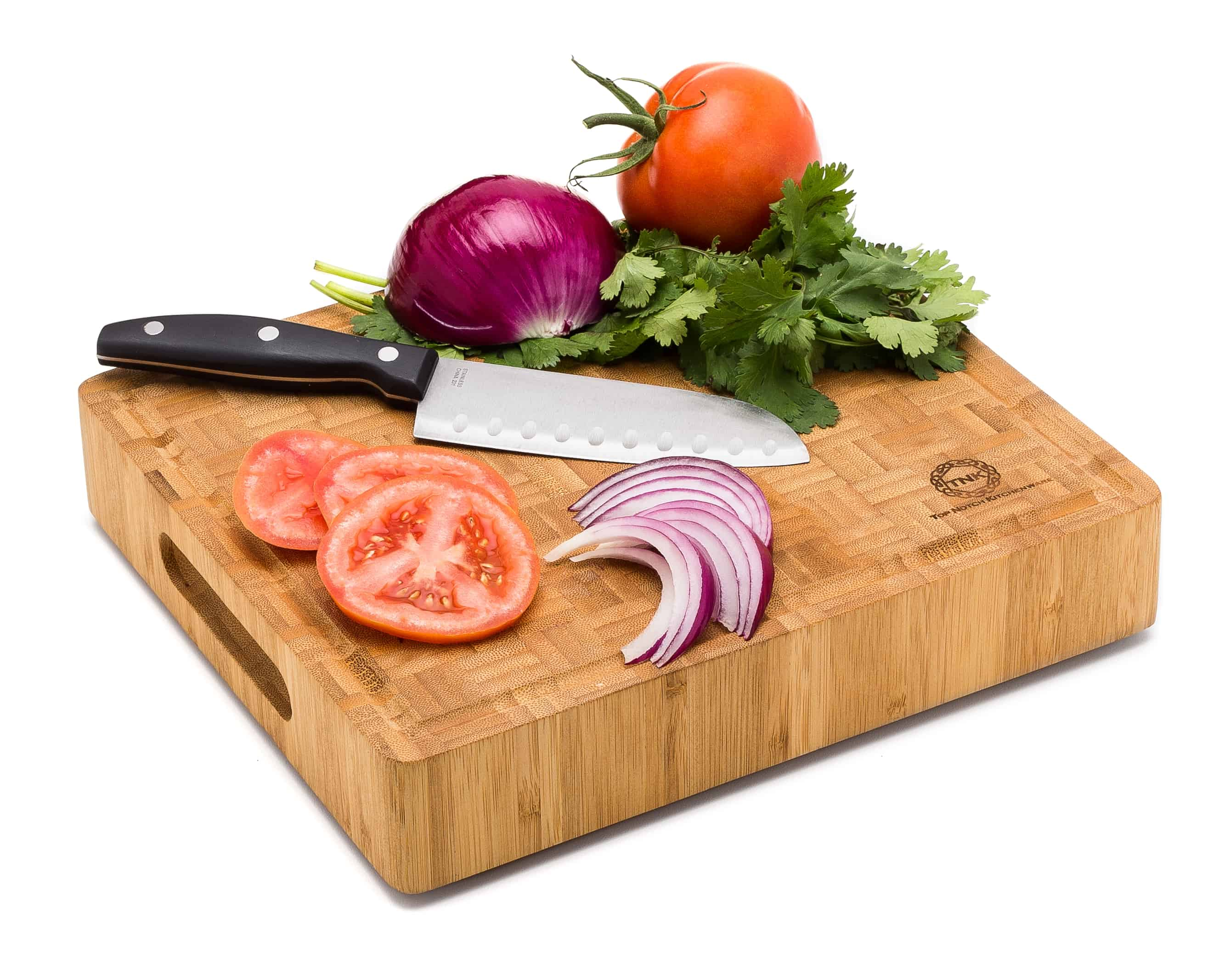 Small End Grain Bamboo Cutting Board Professional